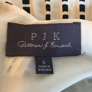 PJK Patterson J. Kincaid Tops - PJK Patterson Kincaid Pleated Tank Leather Straps